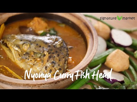 Nyonya Fish Head Curry | Simple Traditional Recipe