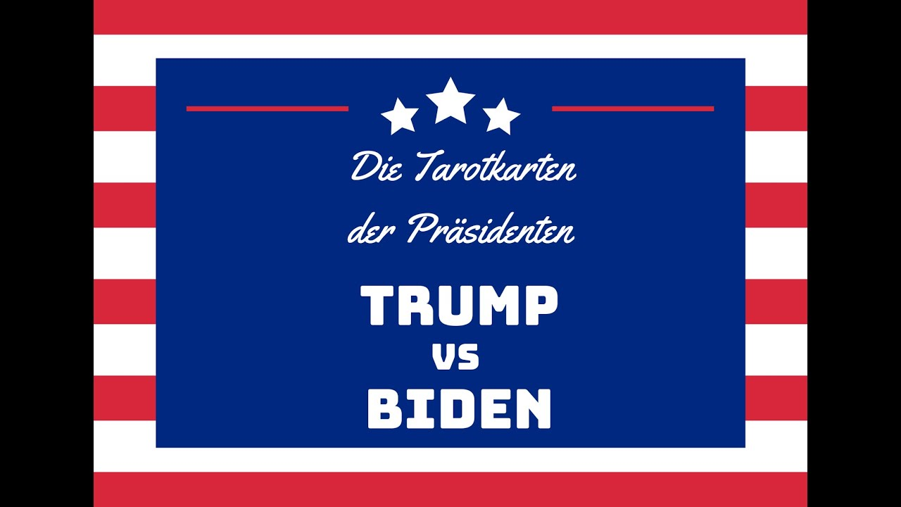 Trump vs Biden - Die persönlichen Tarotkarten der Präsidenten