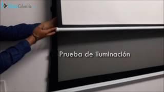 Diferencias telón translucido de proyección TRASERA | Telón de proyección FRONTAL
