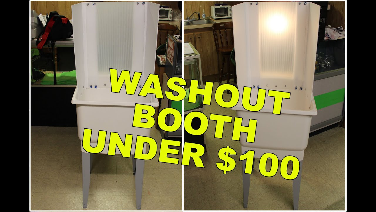 Screen printing upgrades pt 3 easy diy washout booth youtube solutioingenieria Image collections