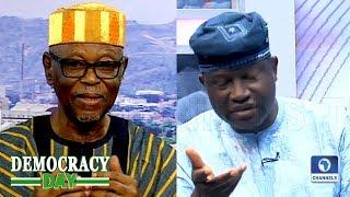 'Hope For Nigeria' Ogunye, Oyegun Debate Buhari's 'Aspirational' Speech