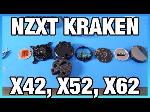 NZXT Kraken X42, X52, X62 Build Quality Analysis & Tear-Down