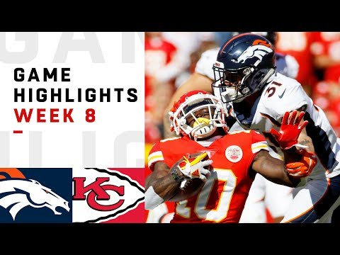 Broncos vs. Chiefs Week 8 Highlights | NFL 2018
