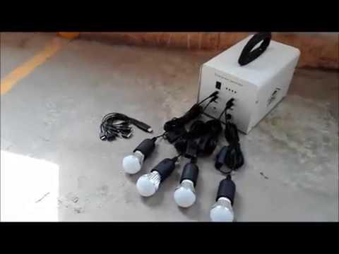 Solar bulb / Prodigital Technology Corp / Demonstration