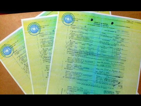 How to request NSO (Birth Certificate) online