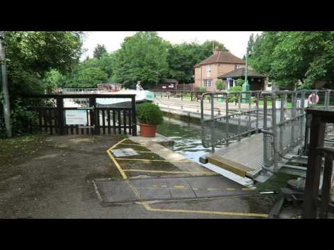 Hurley Lock on the River Thames