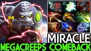 MIRACLE [Sniper] New Monster Level 30 MegaCreeps Comeback 7.23 Dota 2