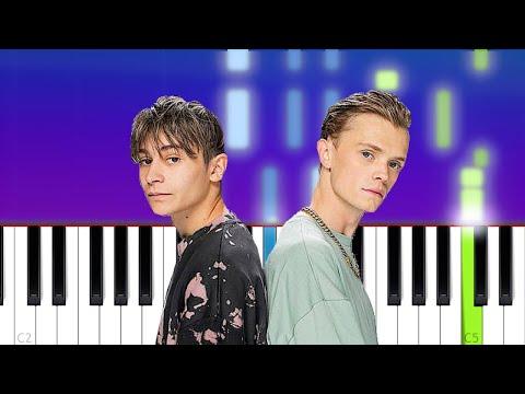 Bars And Melody - Addicted (Piano Tutorial)