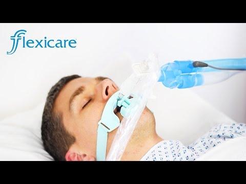 Adult Ventilator Breathing System Setup