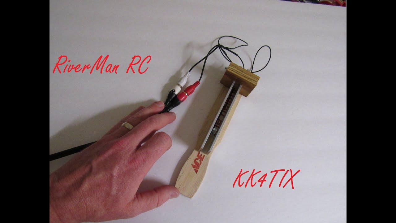 Amateur Radio Homebrew CW Paddle