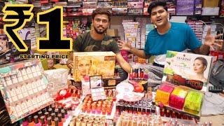 Cheapest Cosmetics Item Market In Delhi sadar Bazar