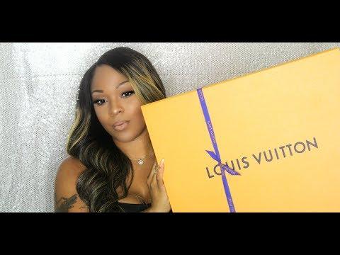 My 1st Luxury Unboxing - Louis Vuitton Artsy Damier Azur MM