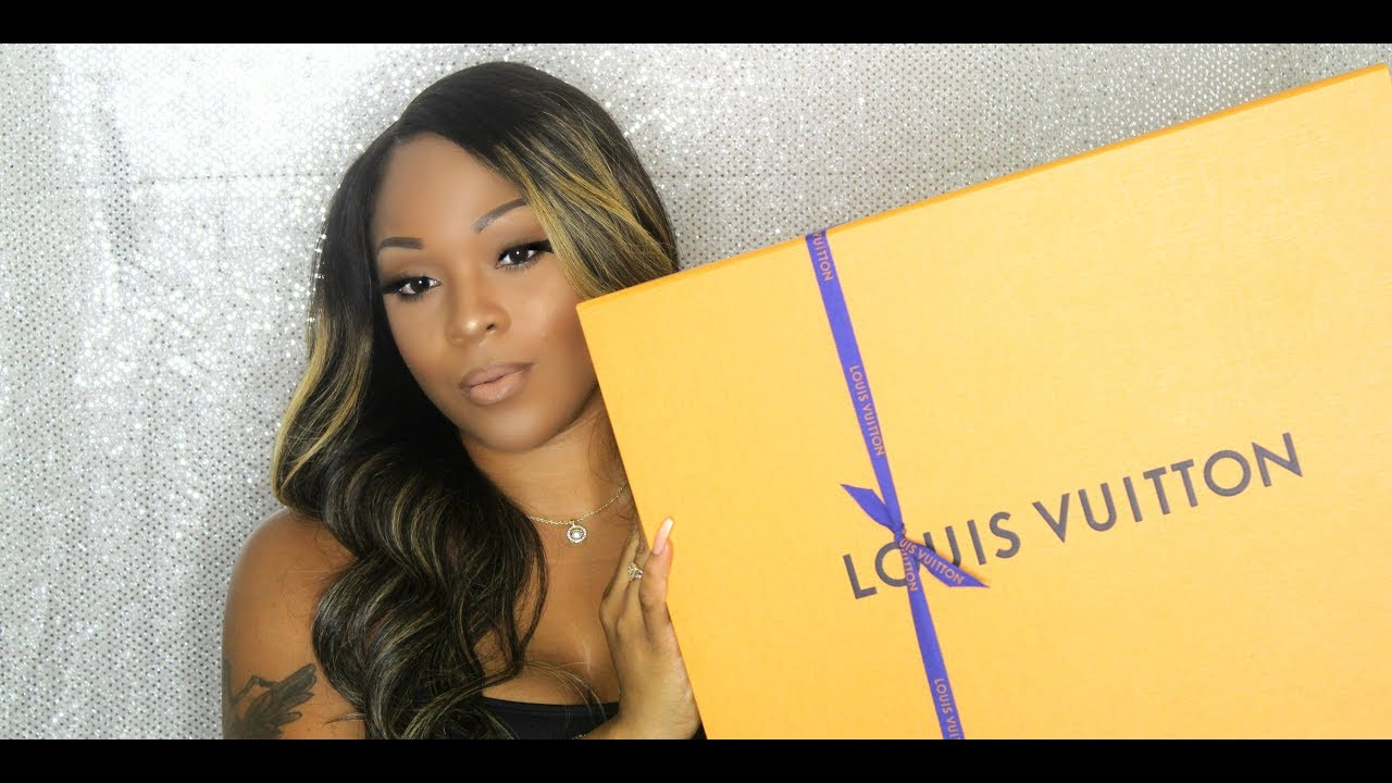 My 1st Luxury Unboxing Louis Vuitton Artsy Damier Azur Mm Youtube