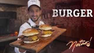 Burger na Churrasqueira –Como fazer seu blend | Netão! Bom Beef #12