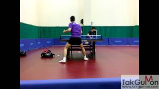 ma long and fan zhendong training busan part 3