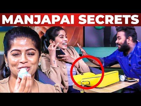 DINOSAUR MUTTAI Inside Soppana Sundari Bavithra's Handbag | What's Inside the HANDBAG | Vj Ashiq