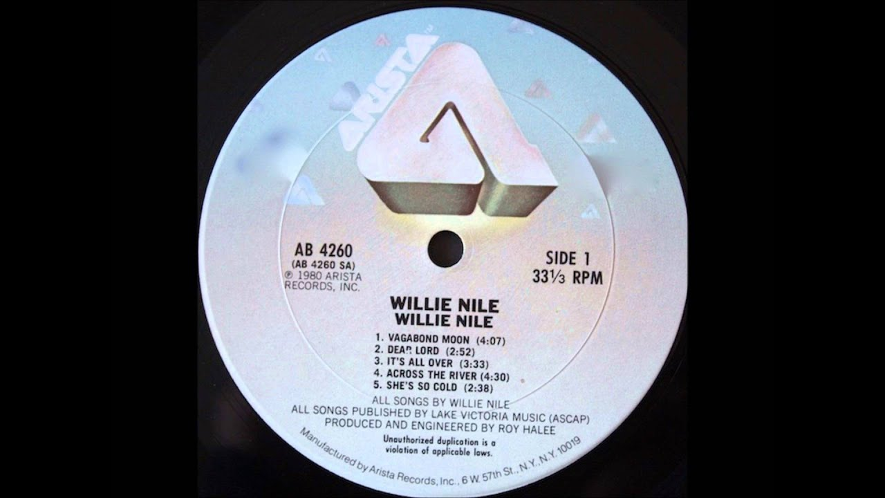 Willie Nile - It\'s All Over (1980) - YouTube