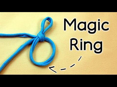 How To Crochet The Magic Ring Magic Circle Adjustable