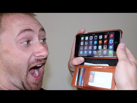 Vaja Wallet Agenda for iPhone 6 Plus Review