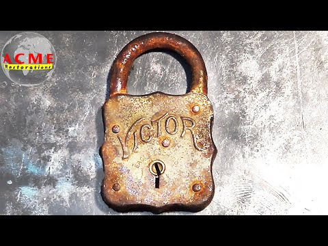 99 Year Old Padlock Restoration