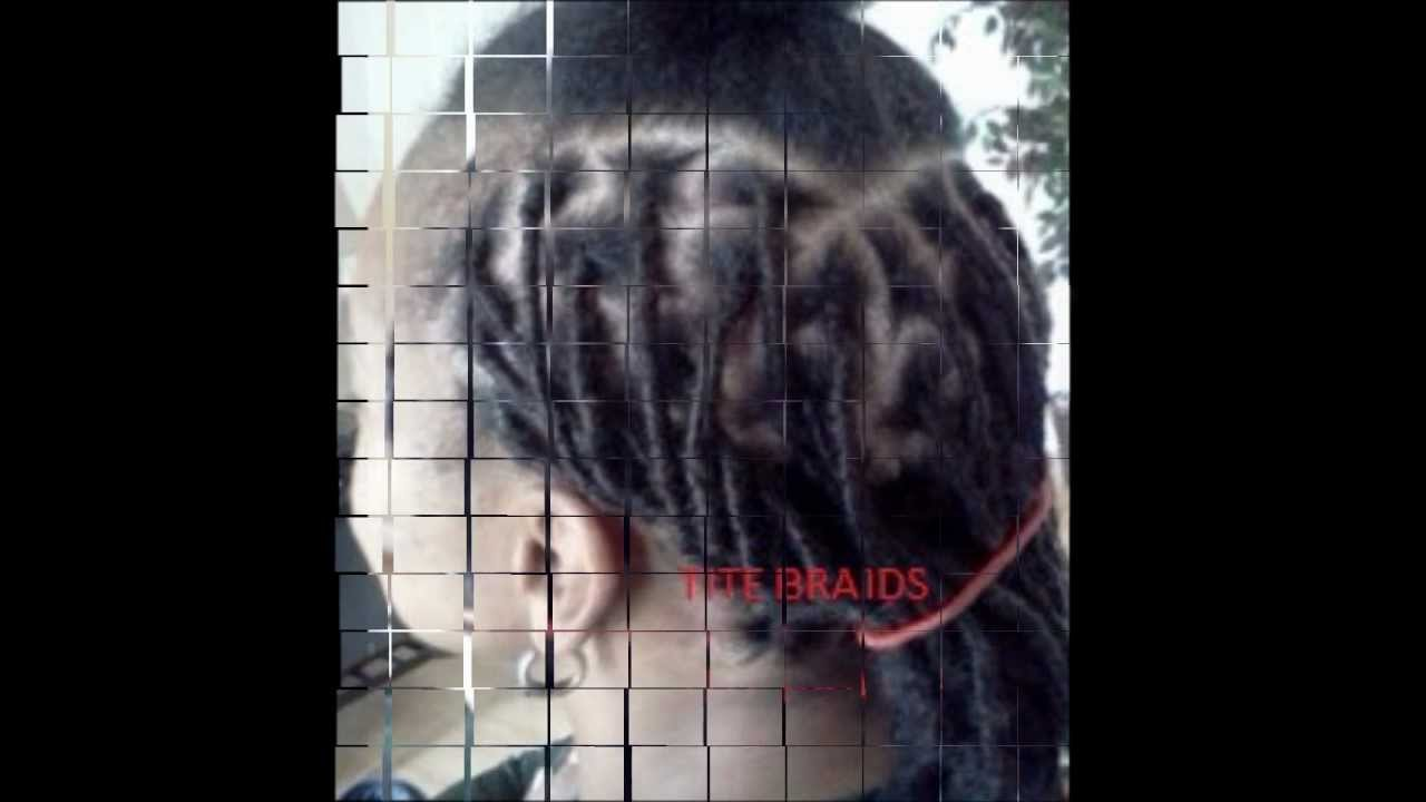 Human Hair Dread Lock Extensions Exclusively At Tite Braids Youtube