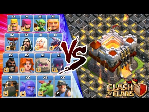 Clash Of Clans | ALL TROOPS vs TOWN HALL 11!! INSANE 3 STAR ATTACK STRATEGY NEW UPDATED TROOPS 2016!