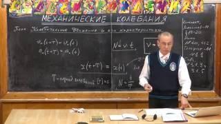 Урок 325. Колебательное движение и его характеристики