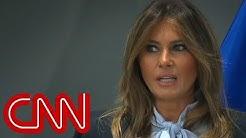 Melania Trump addresses cyberbullying summit