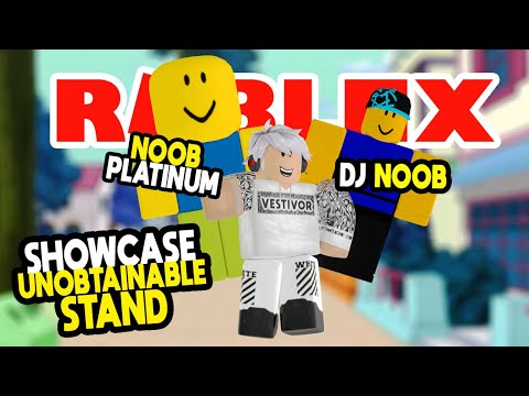 jim dah noob roblox Showcase Stand Unobtainable Dj Noob Dan Noob Platinum Game Roblox Indonesia A Universal Time Youtube