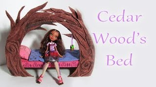How To Make Cedar Wood's Bed [ever After High]