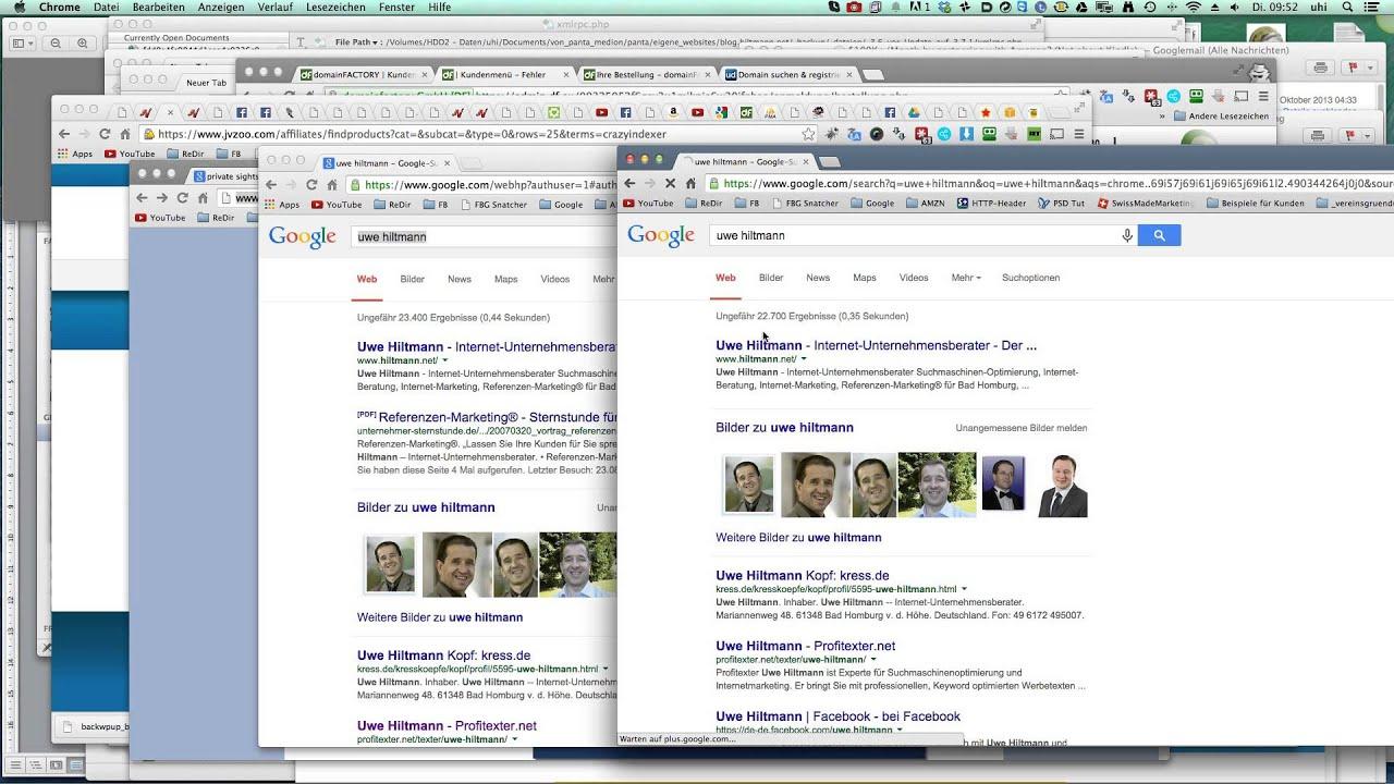 Google Fenster