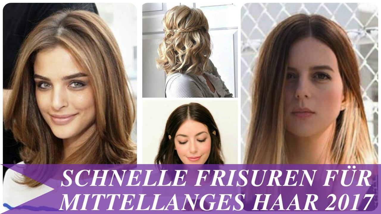 Frisuren halblanges haar 2017