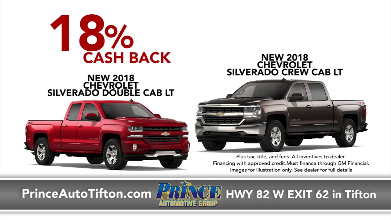 Superior Hottest Deals Of The Year At Prince Chevrolet | Tifton GA | PrinceAuto.com