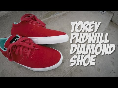 TOREY PUDWILL DIAMOND SHOE UNBOXING !!!!