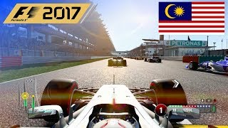 Download Video F1 2017 - 100% Race at Sepang International Circuit, Malaysia in Hamilton's Mercedes MP3 3GP MP4