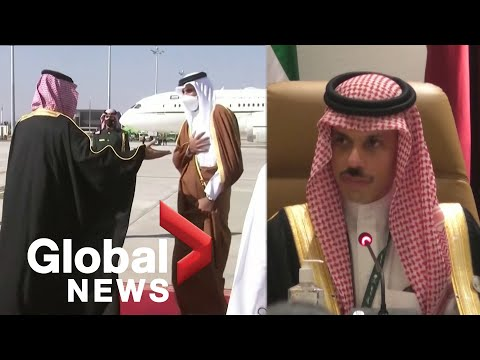GCC summit: Saudi Arabia and allies to restore full ties with Qatar, says foreign minister