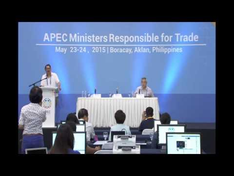 Press Briefing Mr. Eduardo Pedrosa with Amb. Antonio Basilio and Amb. Tang Guoqiang 5/22/2015