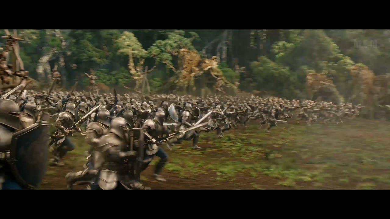 Warcraft 2016 Final Battle Part 1 No Interruptions 4k Youtube