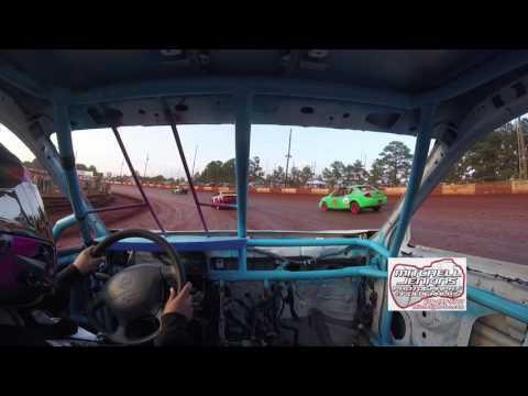 Melissa Dempsey Stinger In-Car Dixie Speedway 6/10/17!
