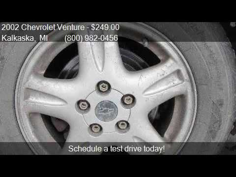 2002 chevrolet venture lt awd 4 door extended van for sale for Voice motors kalkaska michigan