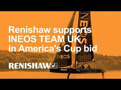 Renishaw supports INEOS TEAM UK in America's Cup bid
