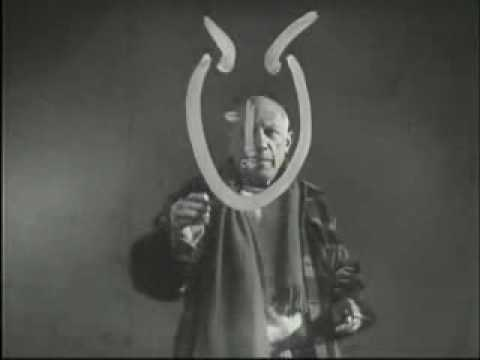 "A Classic Video of Pablo Picasso Marking Art, Set to the Song, ""Pablo Picasso,"" by Jonathan Richman & The Modern Lovers"