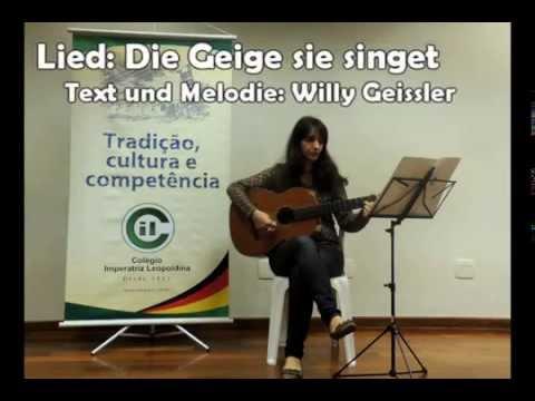 Lied: Die Geige sie singet - Text und Melodie: Willy Geissler