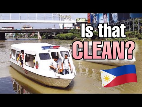 Foreigner rides the Pasig River Ferry for the first time