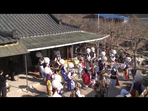 Nongak, community band music, dance and rituals in the Republic of Korea