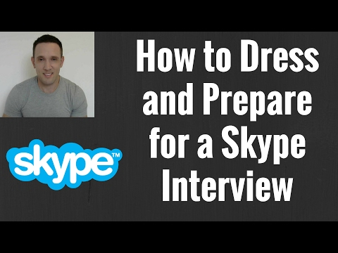 How to Dress and Prepare for a Skype Interview as an ESL English Teacher Going Overseas to Teach