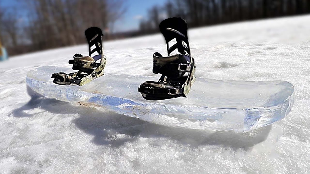 la meilleure attitude 8e403 3d258 SNOWBOARD MADE OF ICE!