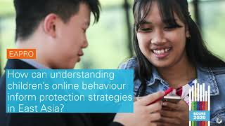 #BOURE2020: Understanding children's online behaviour to inform protection strategies in East Asia