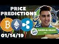 Price Predictions: Bitcoin ($BTC) / Ethereum ($ETH) / Ripple ($XRP) !