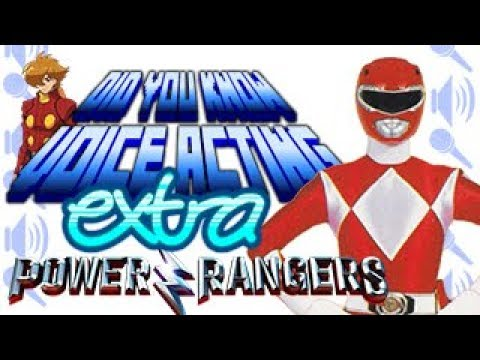 Mighty Morphin Voice Actors - Did You Know Voice Acting? extra (feat. Kirbopher)
